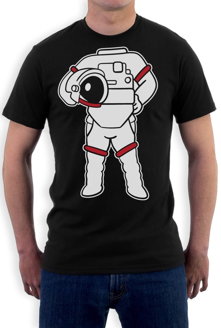 New 2017 Summer Style T Shirt Astronaut Easy Costume ...
