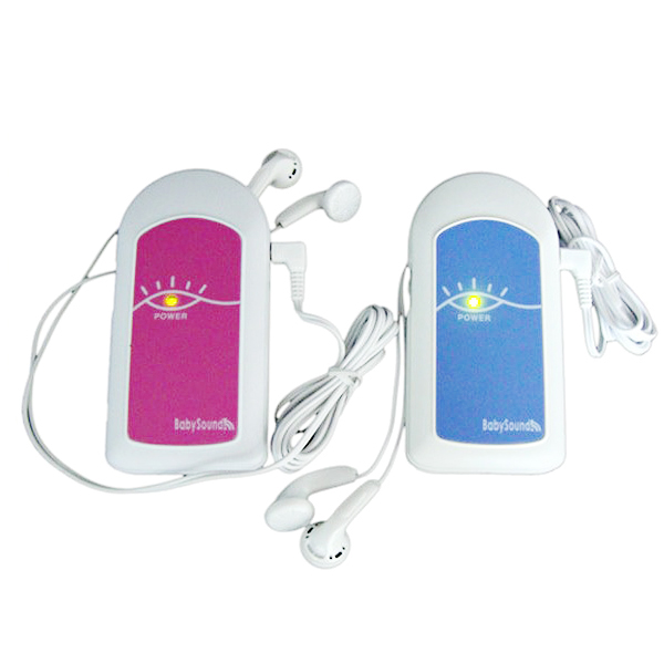 AngelSounds CE FDA Mini Fetal Doppler Pocket Ultrasound Prenatal Fetal Detector Portable Baby Heart Rate Monitor Free shipping