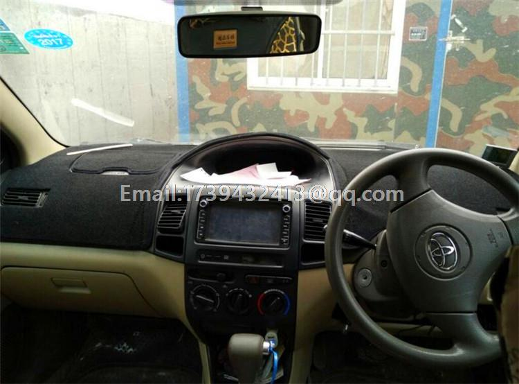 Dashmats Car Styling Accessories Dashboard Cover For Toyota Yaris Rhaliexpress: 2007 Toyota Yaris Dash Radio At Gmaili.net