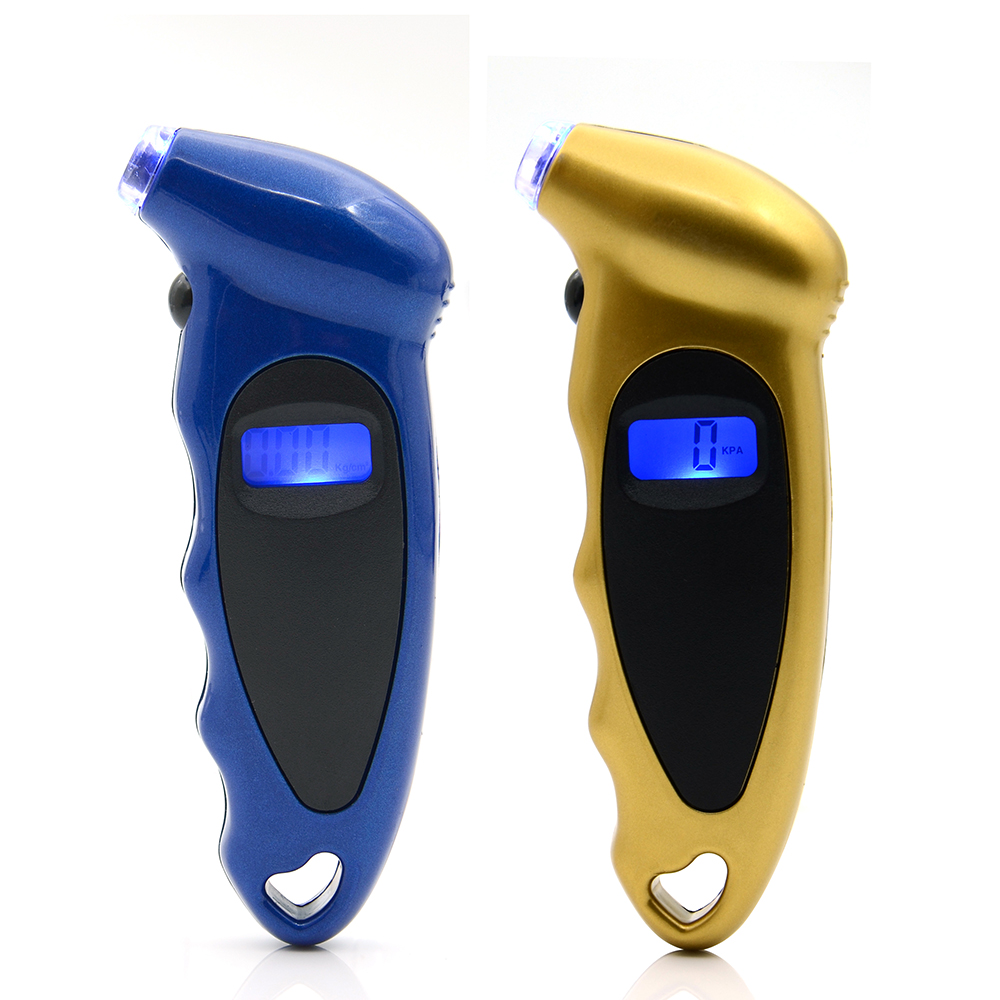 Portable Digital Tyre Air Pressure Gauge Tester Tool For Auto Car Motorcycle
