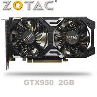 ZOTAC GTX 950 OC 2GB GT950 GTX950 2G D5 DDR5 128 Bit nVIDIA PC Desktop Graphics Cards PCI Express 3.0 computer Graphics Cards