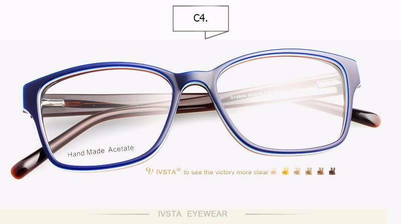 10d712f28235 IVSTA Eyeglasses Acetate Frames with Wood Grain Design Handmade Acetate  Optical Frame Wooden Glasses Women myopia Cat Eye 2985 USD 12.91 piece