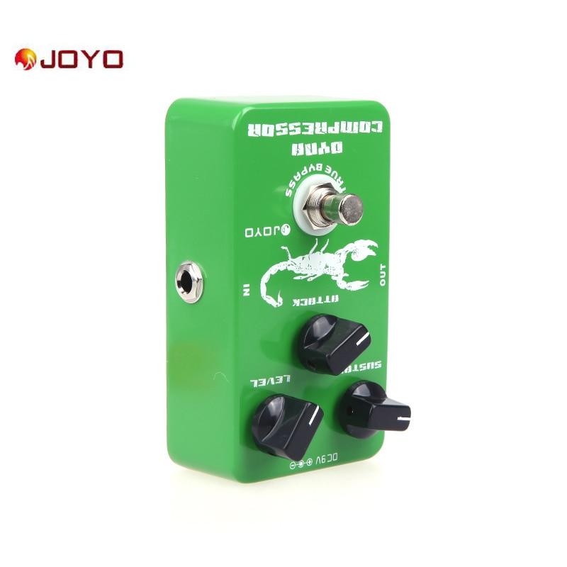 Joyo JF 10 Dynamic Compressor Guitar Effect Pedal True Bypass