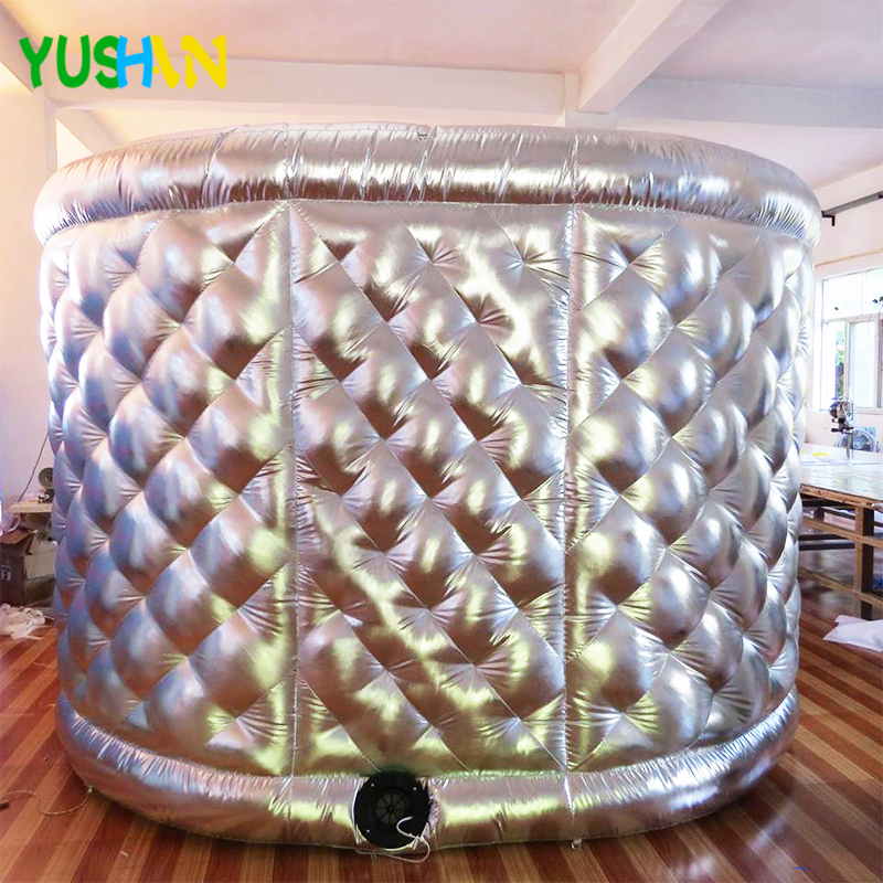 Silve Oval Photo Booth 02