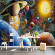 3D wallpaper large fresco space cosmic
