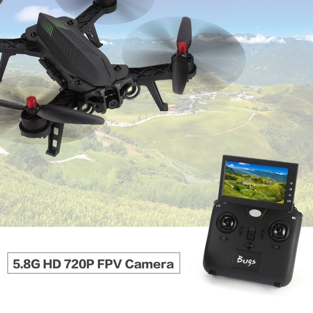 все цены на RC Quadcopter 6 B6FD 2.4GHz 4CH 6 Axis Gyro RTF Drone Helicopter With HD 720P 5.8G FPV Camera And 4.3