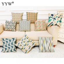 Creative Home Pillow Print Cushion Polyester Throw For Office Living Room Bed Decorative Pillowcase