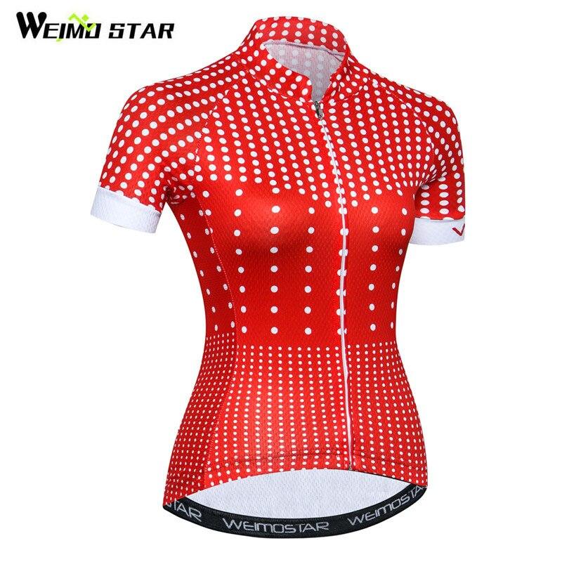 Weimostar 2018 Traspirante Abbigliamento Ciclismo Estate Manica Corta Ciclismo Shirt in Jersey Pro Team Road mtb Bici Jersey Ropa ciclismo