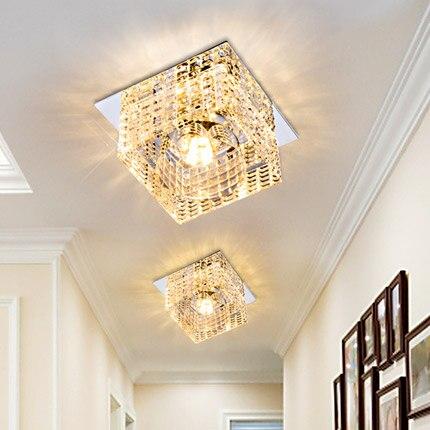 СВЕТОДИОДНЫЙ Потолок лампы коридора лампа комната Настенный светильник лампа хрустальная лампа отверстие SD140