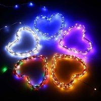 Звездного света строки 33ft 100LED Фея Декоративный Медный провод свет веревочки для внутреннего открытый домашний сад для отдыха и вечеринок у...