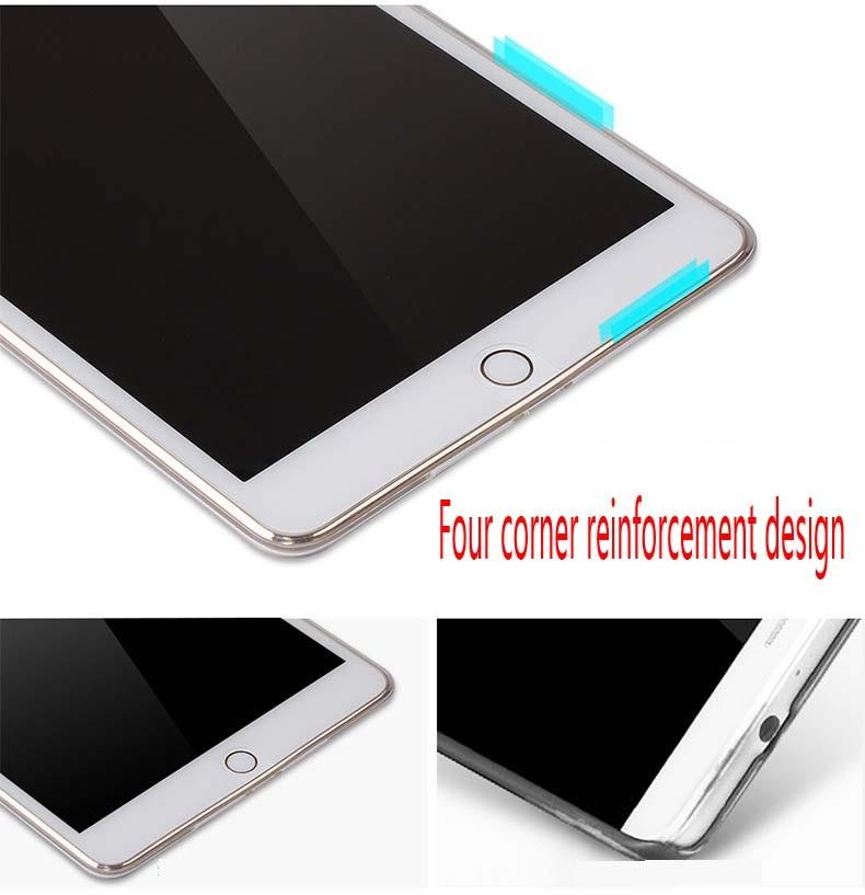 Tablet alma Ipad Air 2 Case İncə Kristal TPU Silikon qoruyucu arxa - Planşet aksesuarları - Fotoqrafiya 6