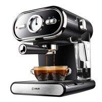 Итальянский Кофе машины dl kf5002 полуавтоматическая дома визуализации полный Контроль температуры 20bar