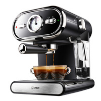 Italian Coffee Machine DL KF5002 Semi automatic Home Visualization Full Temperature Control 20BAR