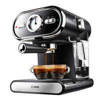 Machine à café italienne DL-KF5002 semi-automatique visualisation à domicile contrôle de température complet 20BAR