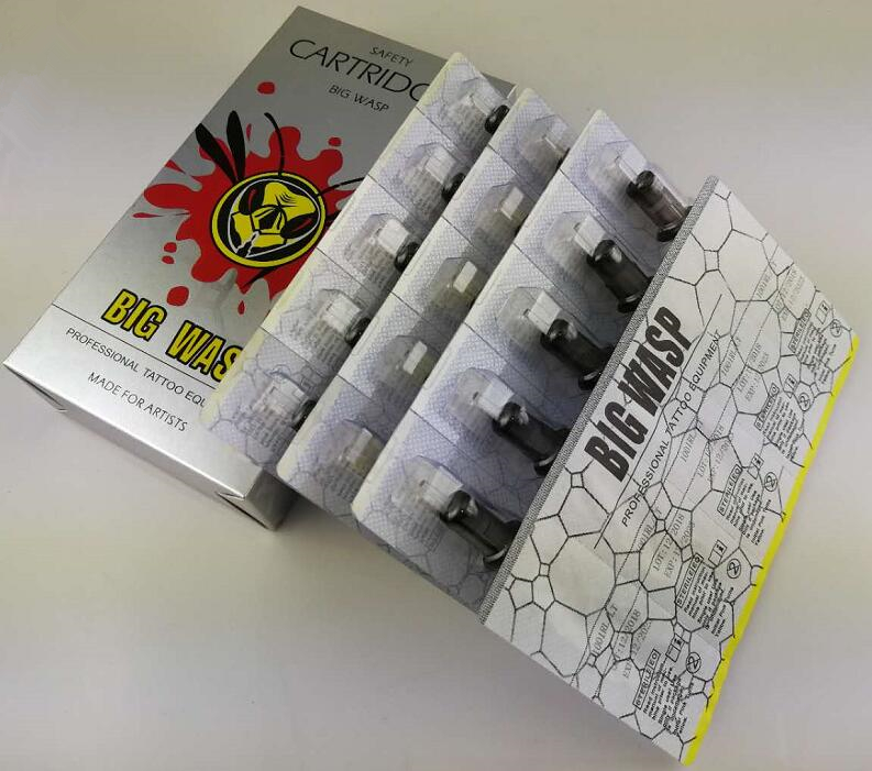 Image 2 - BIGWASP Gray Disposable Needle Cartridge 5 Round Liner (5RL) 20Pcs/Box-in Tattoo Needles from Beauty & Health