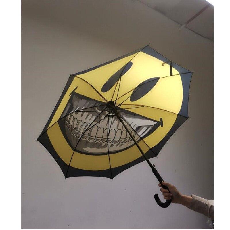 Moderne créatif or dents sourire visage parapluie édition limitée le parrain de British Street Art décorations pour la maison M1171