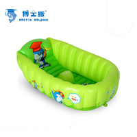 Baby tub inflatable children's tub thickening insulation large folding baby bath