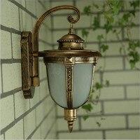 Retro European waterproof outdoor Wall lamps E27 lamp garden terrace light decoration lights outdoor lighting