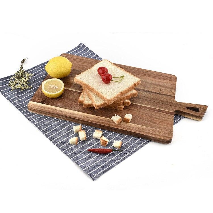 HADELI Acacia Wood Cutting Board Large Wood Cutting Board Divine Bread Plate Creative Kitchen Gadgets in Chopping Blocks from Home Garden