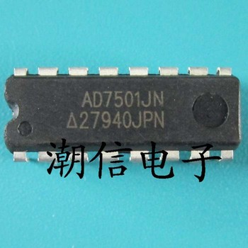Free shipping    new%100       new%100     AD7501JN   DIP-16