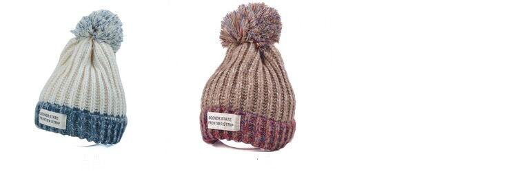 قبعة صوف دافئة نسائية 6