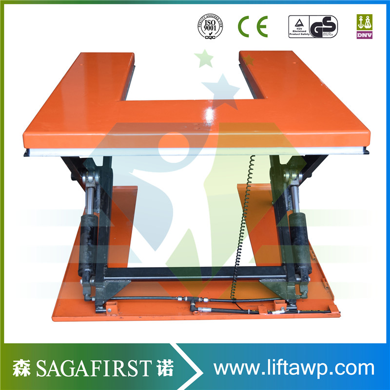 U Type Scissor Lift Table Can Be Customized