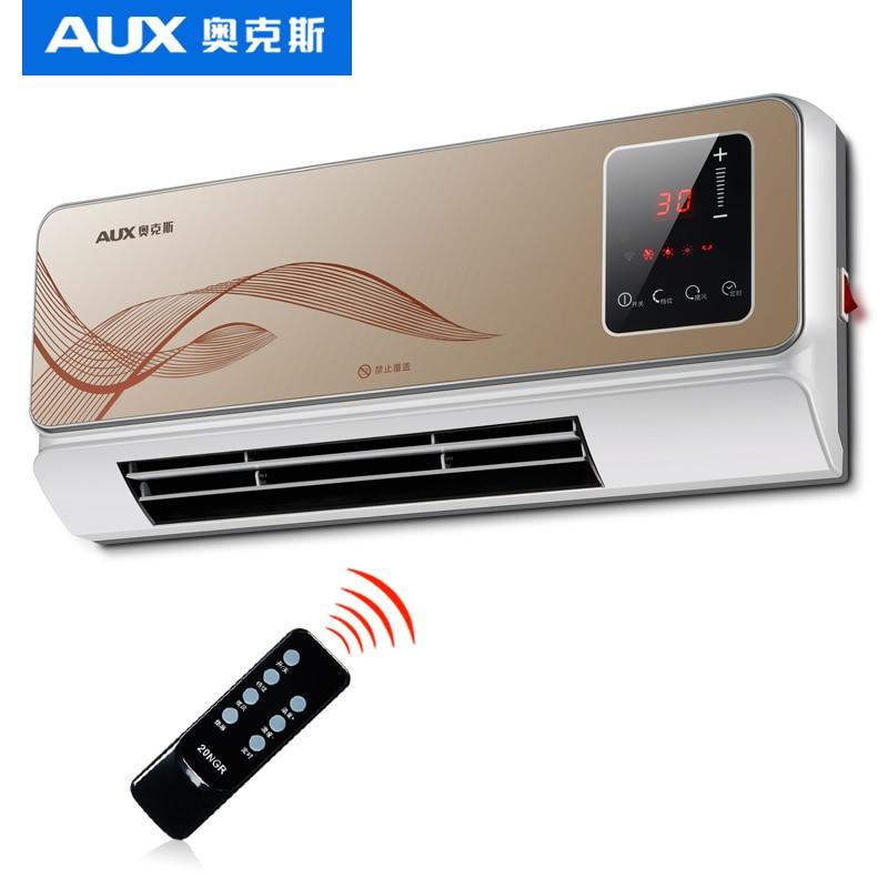 Appareil de chauffage électrique mural étanche télécommande Wifi climatisation Machine de chauffage économie d'énergie 3 vitesses dispositif chaud
