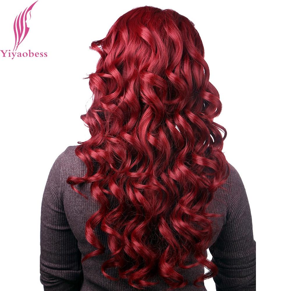 Yiyaobess 26 ιντσών ανθεκτικά στη - Συνθετικά μαλλιά - Φωτογραφία 3