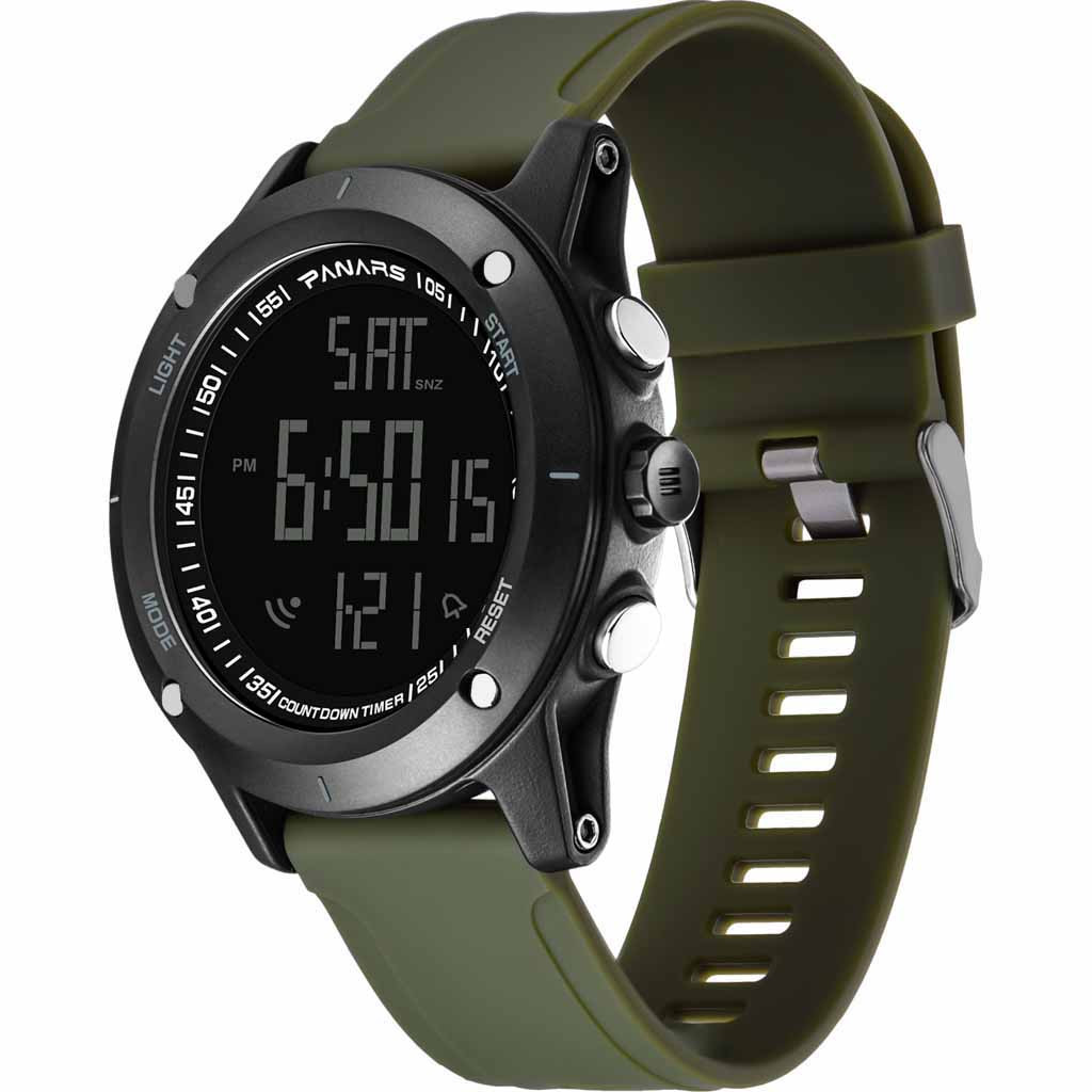 Sports-Watch Wrist Masculino Digital Military Silicone Waterproof Men Luxury Relogio