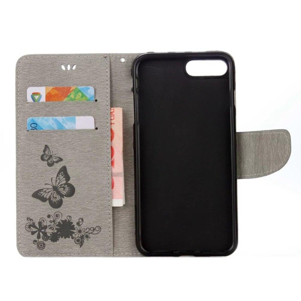FULAIKATE Funda de cuero con relieve para iPhone6 6s Funda con - Accesorios y repuestos para celulares - foto 4