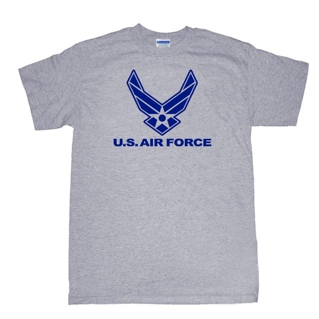 Us Air Force Symbol T Shirt 100 Cotton Military Army Usaf T Shirt