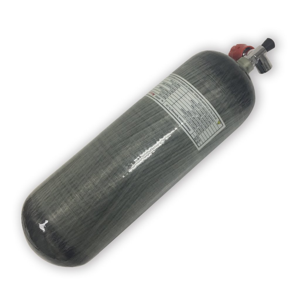 AC10911 High Quality Pcp High Pressure 9LCE Carbon Fiber Cylinder 300bar 4500psi For Compressed Air Rifles Drop Shipping Acecare