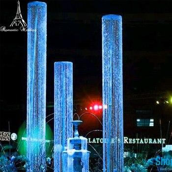 Бриллианты хрустальные сверкающие радужные колонны 9FT/14FT круглые бусины премиум качества