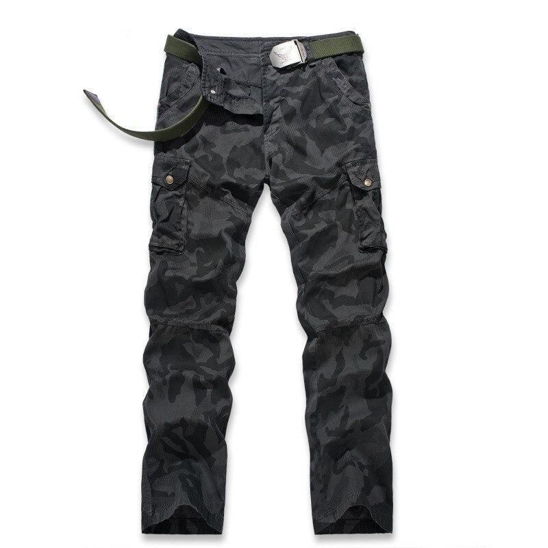 Armée Cargo Survêtement En Militaire army Straight Mens Mâle Camo black Fit Poche Khaki Pantalon Décontracté 2019 Grande Coton Style Camouflage 6faqEC