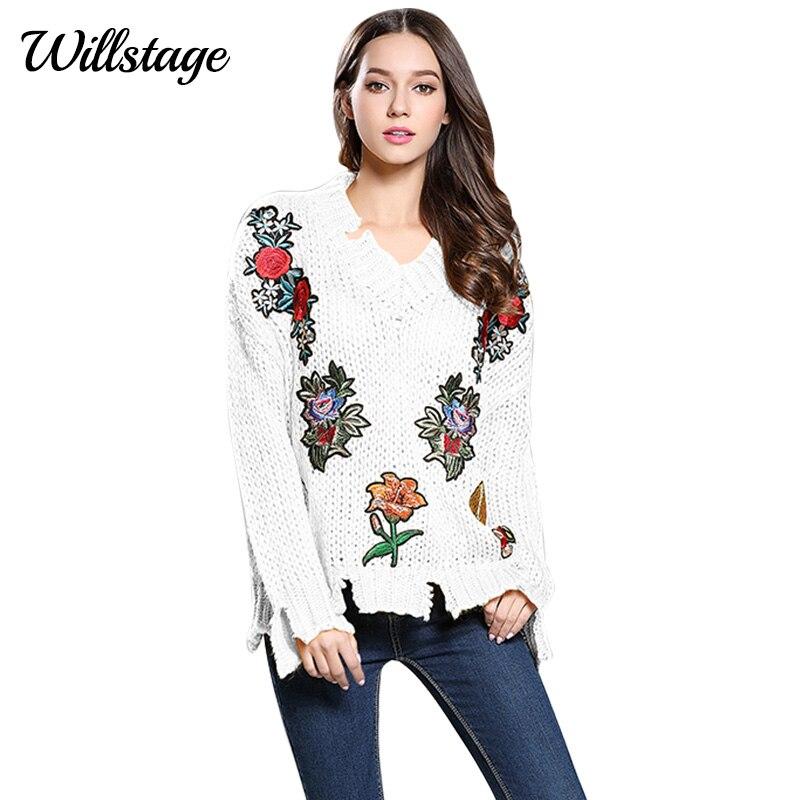 Willstage 2019 Новий осінній светр для жінок - Жіночий одяг