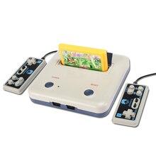 Консоль Cdragon для видеоигр D30 FC, Классическая старая желтая карта, вставленная двойная игровая ручка, красная машина, коллекция, Прямая поставка