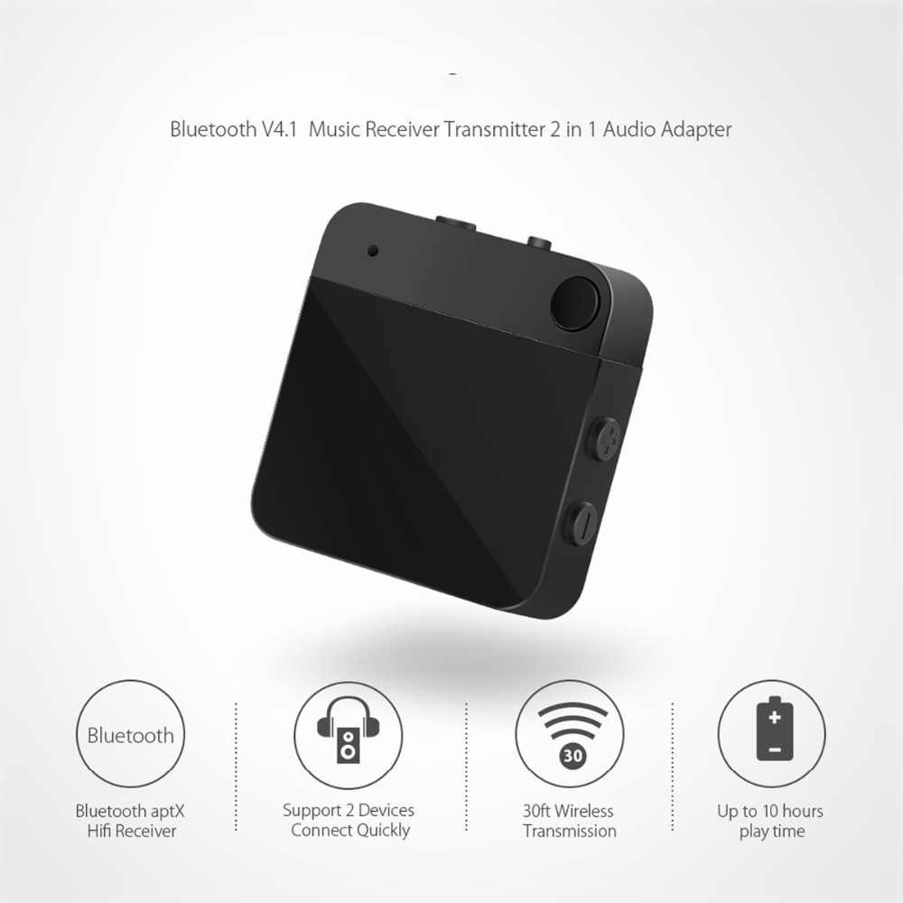 Multipoint Connection Bluetooth 4 1 Aptx low latency stereo home TV Audio  Transmitter Receiver Wireless Audio Adapter