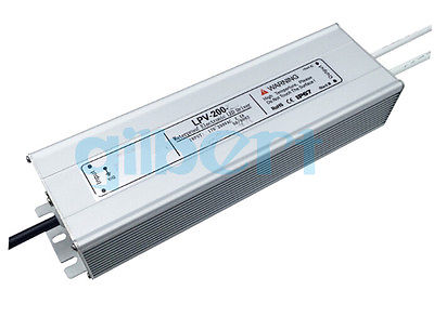 DC 24V 200W LED Driver IP67 Waterproof Transformer Outdoor Light Power Supply image