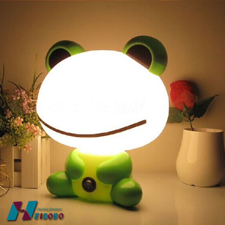 Frog Prince Animal Seductive Mini Table Night Light Lamp Peas Cartoon  Abajur Night Light Kids Lamps For Bedroom In Table Lamps From Lights U0026  Lighting On ...