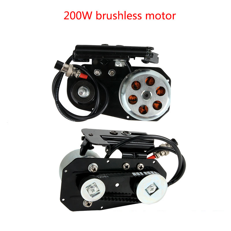 200W Booster With Battery Modified Moped Kit Bicycle Friction Drive DIY Electric Bike 200W Brushless High
