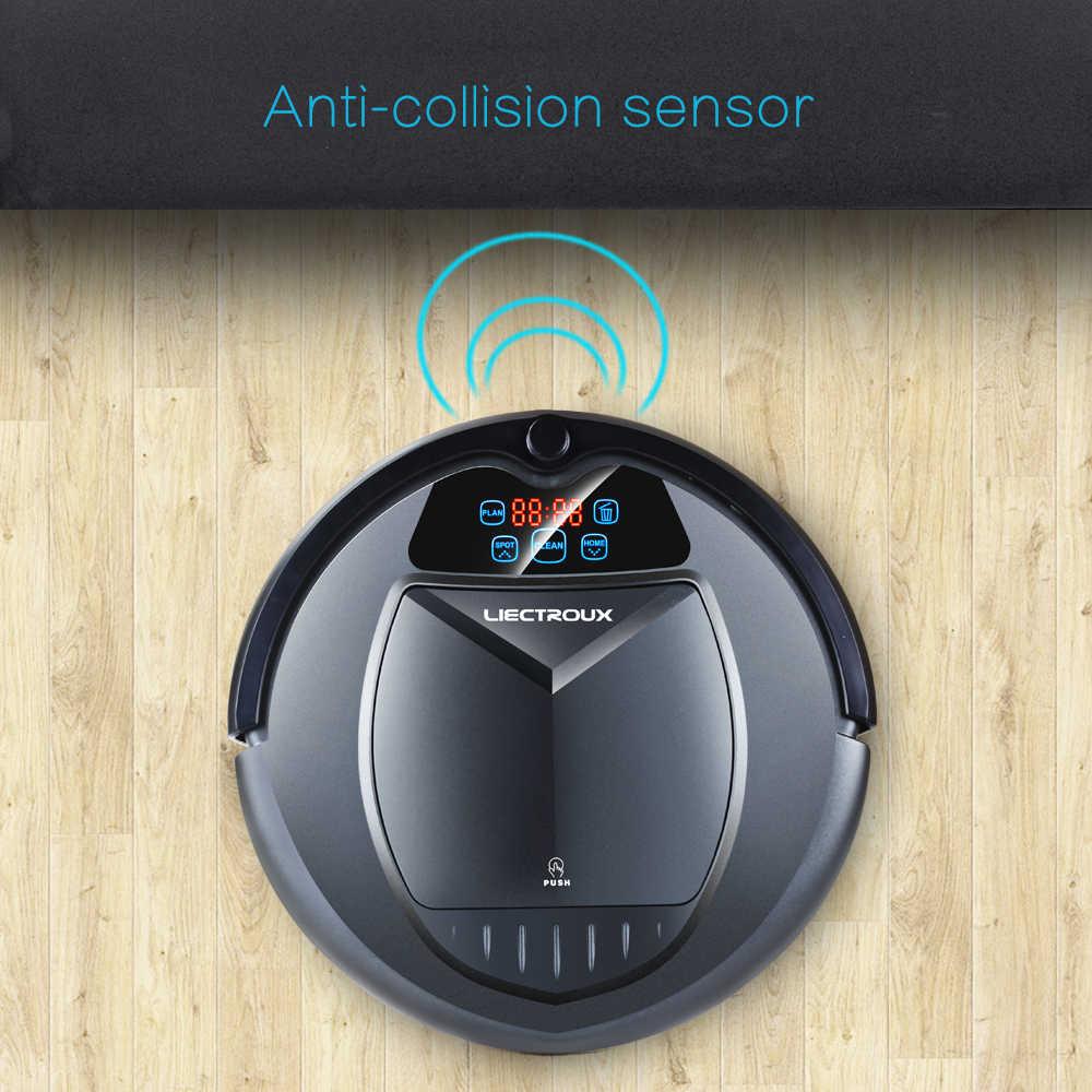 """(ФБА склад) liectroux B3000 робот-пылесос, по расписанию, виртуальная """", Self зарядки, пульт дистанционного Управление, низкая цена для дома"""