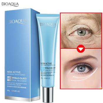 BIOAQUA Ocean Eye Cream Firming Ageless Whitening Moisturizing Hydrating Anti Wrinkle Remove Circles Beauty Eye Skin Care Creams ocean pearl powder pure seawater your own mask whitening firming 260g beauty salon equipment