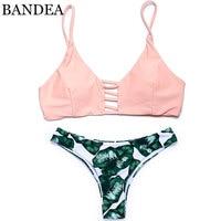 BANDEAR Sexy Brazilian Bikini 2017 Swimwear Women Swimsuit Biquini Halter Bikinis Set Bathing Suit Maillot De