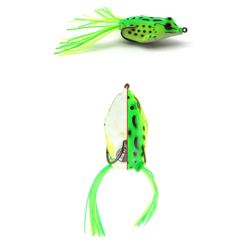 Frog Lure Soft Lures Artificial Fishing Bait Topwater Wobbler Bait for Pike Snakehead Article Gear YS-BUY