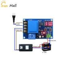 XH-M602 controle digital bateria de lítio módulo de controle de carregamento da bateria interruptor de controle de carga da bateria placa de proteção