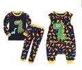 Newest Baby Boy Clothes Girls Cartoon Animal Dinosaur Giraffe Lion Tiger Children Costume Clothing Kids Sweartshirt Pants Romper