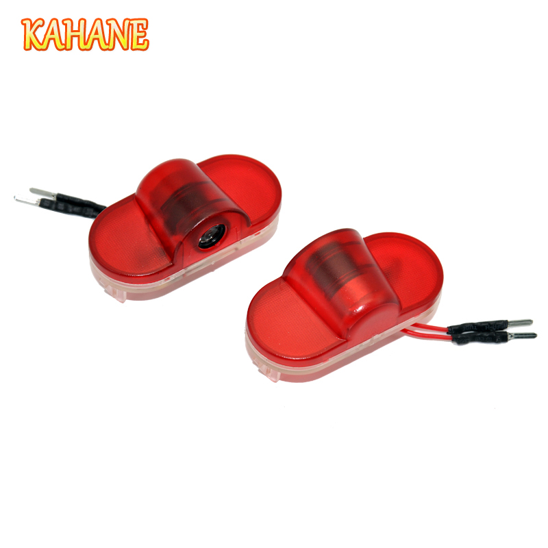 KAHANE 2x LED Car Door Light Projector Courtesy Laser Light Ghost Shadow Welcome Light FOR Ford S-MAX Mondeo MK4