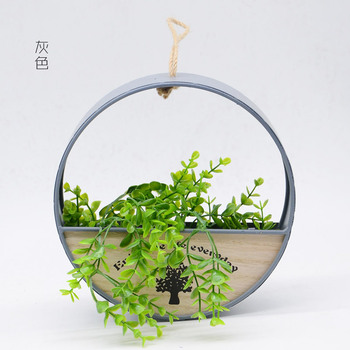 Hanging Metal Baskets | Home Decoration Flowerpot Succulent Planter Hanging Baskets For Bracketplant Also For Artificial Flower Garden Ornaments