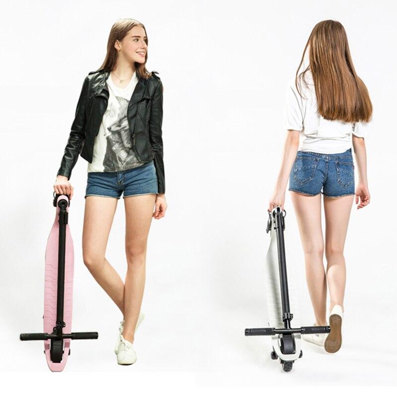 6 pouces mini Électrique scooter 24 v 36 v 48 v Deux Roues kick scooter Adulte Enfants Électrique planche à roulettes Moteur scooterelectric hover bord
