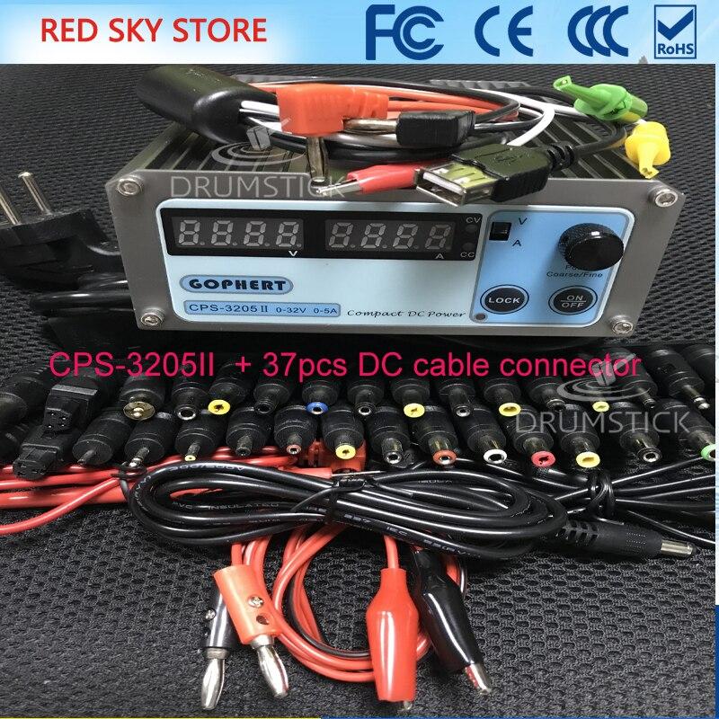 CPS-3205 0-30V-32V Регулируемый DC импульсный Питание 5A 160 Вт SMPS Переключение AC 110 В (95 В-132 В) /220 В (198 В-264 В)
